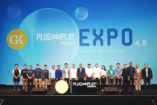 Hasil gambar untuk GK-Plug and Play Indonesia Gandeng 2 Korporasi Baru dan Akselerasi 16 Inovasi Teknologi di Expo Day 4.0